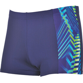 arena Spike Swim Shorts Men navy-leaf